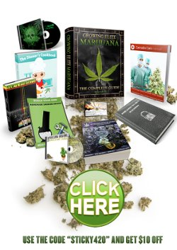 Growing Elite Marijuana half price discount code
